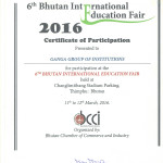 BHUTAN INTERNATIONAL FAIR CERTIFICATION