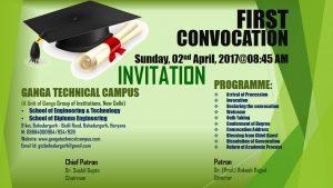 invitation & programme schedule
