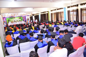 STUDENTS ON CONVOCATION