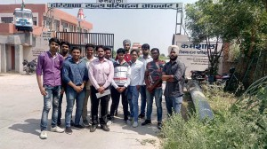 INDUSTRIAL VISIT AT HARYANA ROADWAYS JHAJJAR
