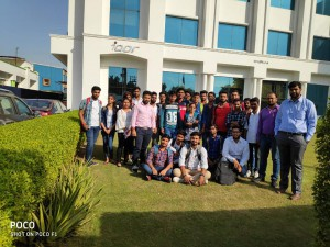 INDUSTRIAL VISIT AT IQOR GLOBAL SERVICES PVT. LTD. MANESAR