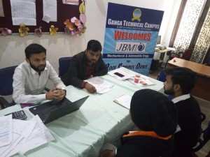 INTERVIEW CONDUCTED BY JBM INDIA PVT. LTD.