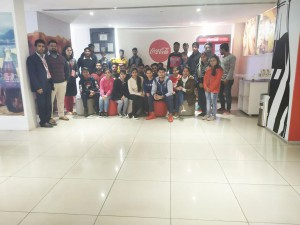 INDUSTRIAL VISIT AT COCA COLA