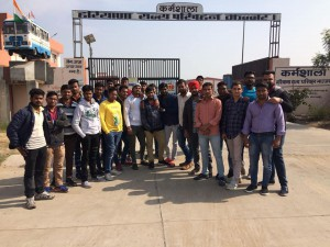 Industrial Visit at Haryana Roadways Workshop, Jhajjar