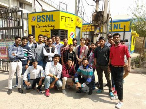 Industrial Visit at BSNL Bahadurgarh