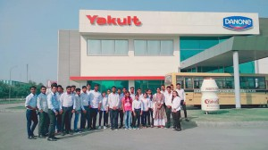 INDUSTRIAL VISIT AT YAKULT