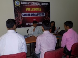 Interview Session by SENIOR INDIA PVT.LTD