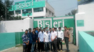 industrial visit at Bisleri