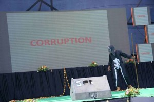SKIT ON CORRUPTION